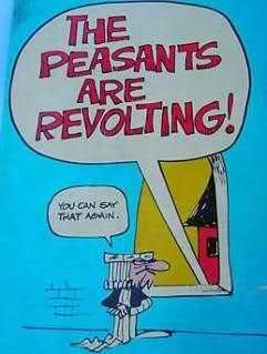 damn peasants