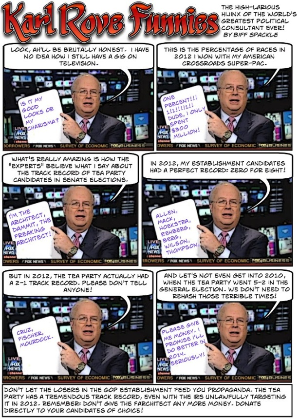 karl rove super genius