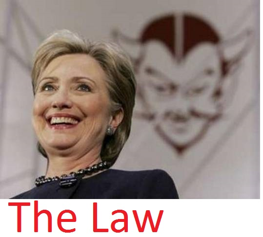 Her Natural Habitat: Above The Law!